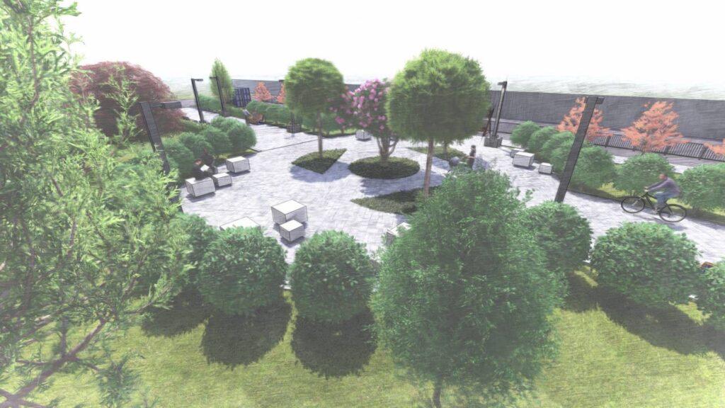 Ландшафтный дизайн скверов и парков